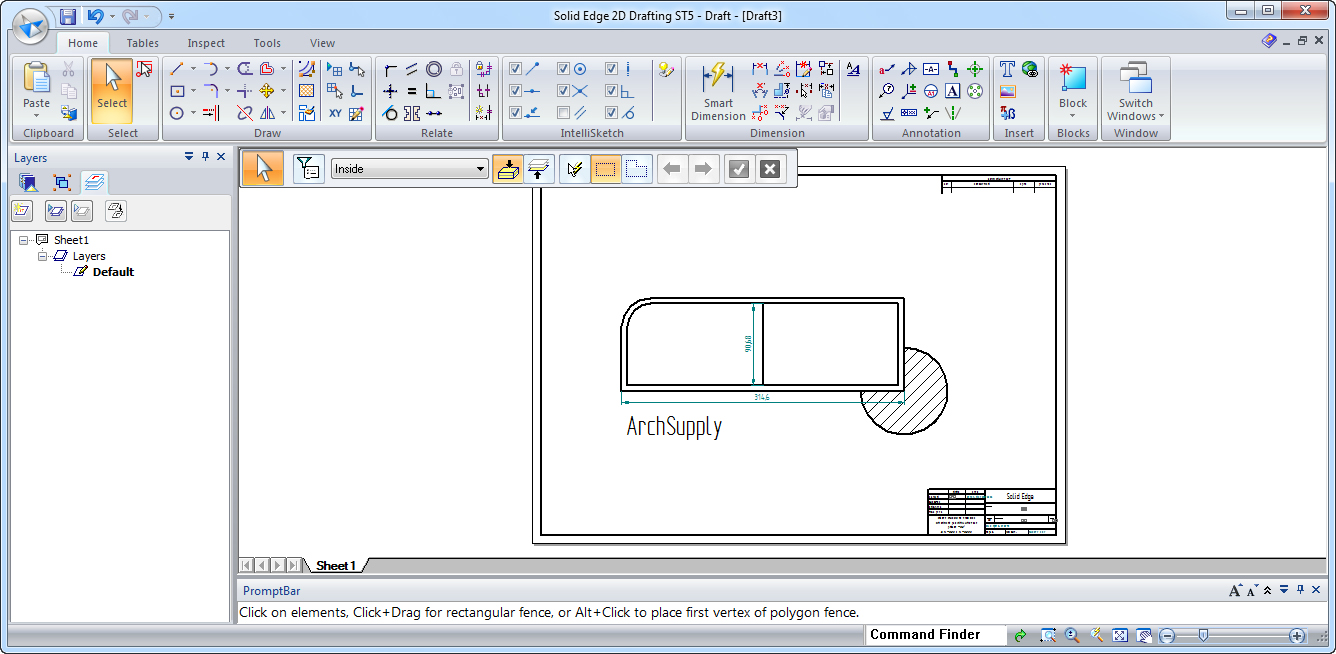 Free cad software archsupply for Drawing program free online