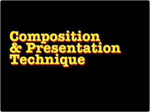 How to Composed Design For Presentation